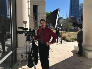 Photo shoot at Duval County Courthouse
